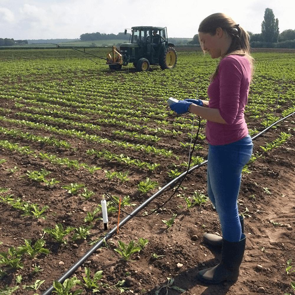 Pr2 profile probe soil moisture probe moisture of soil for Three uses of soil