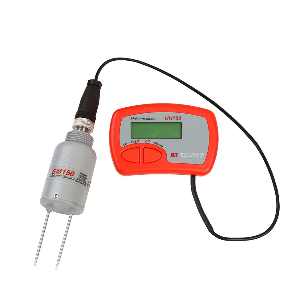 Sm150 kit soil moisture sensor kit soil moisture meter for Soil moisture meter